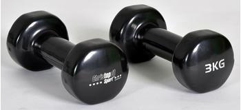 christopeit-fitness-dumbbell-vinyl-2-x-3-kg