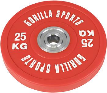 Gorilla Sports Bumper Plate Profi (100946) 25 kg
