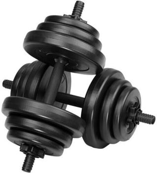 TecTake 2 dumbbells with weights