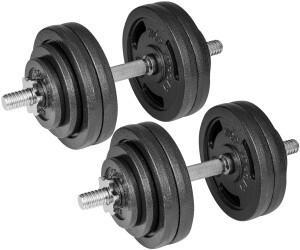 Hop-Sport Kurzhantel-Set 2 x 30 kg (2256)
