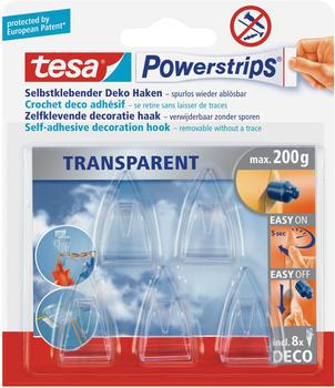Tesa Powerstrips Deco-Haken, 5 Stück