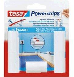Tesa Powerstrips Kabel-Clip (5 Stk.)