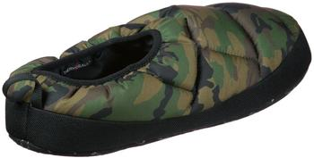 The North Face Men's NSE Tent Slippers III - Black Forest Woodland Camo/TNF Black
