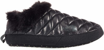 The North Face Thermoball Tent Mule Faux Fur IV Women shiny tnf black/beluga grey