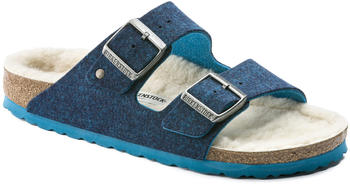 Birkenstock Arizona Wollfilz blue