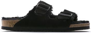Birkenstock Arizona Suede Leather (schmal) black