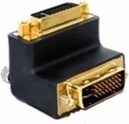 DeLock Adapter DVI 29pin Stecker-Buchse rechts gewinkelt (65173)