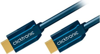 Clicktronic 70303 Casual High Speed HDMI Kabel mit Ethernet (2,0m)