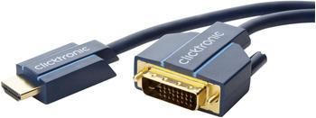 Clicktronic 70345 Casual HDMI / DVI-Adapterkabel (10,0m)