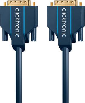 Clicktronic 70338 Casual DVI-D Verbindungskabel (15,0m)