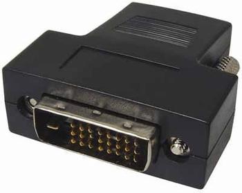 Transmedia C 197 B HDMI-/DVI-Adapter - HDMI Bu - DVI-D St