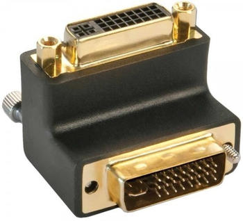 Lindy 41253 DVI Adapter 90 Grad nach oben