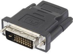 Renkforce HDMIDVI Adapter [1x HDMI-Buchse - 1x DVI-Stecker 24+1pol.] Schwarz