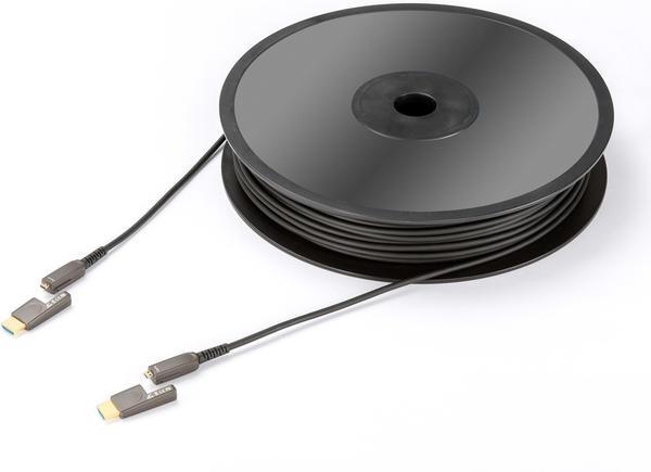 In-Akustik Profi HDMI-Micro 2.0 LWL Kabel