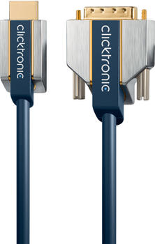 Clicktronic 70543 Advanced HDMIDVI-Adapterkabel (5,0m)