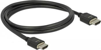 DeLock High Speed HDMI Kabel 48 Gbps 8K 60 Hz 1m