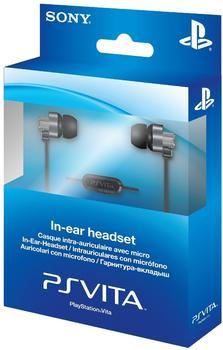 Sony PS Vita In-Ear-Headset schwarz