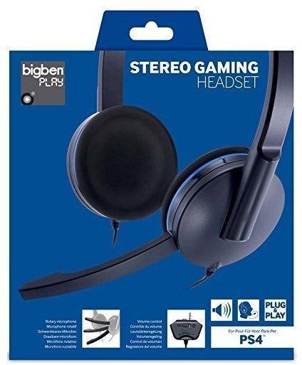 Bigben Stereo Gaming Headset PS4 schwarz