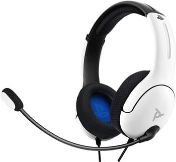 PDP PS4/PS5 LVL40 Wired Stereo Gaming Headset weiß