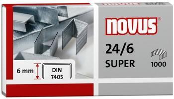 Novus Heftklammern 24/6 DIN Super 1000 Stück