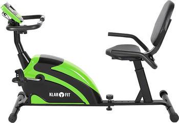 Klarfit Recumbent Relaxbike 5G grün/schwarz