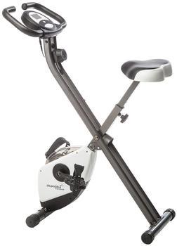 Skandika Fitnessbike Foldaway X-1000 weiß