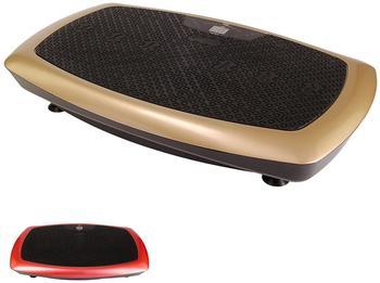 POWRX Vibrationsplatte Basic schwarz/rot