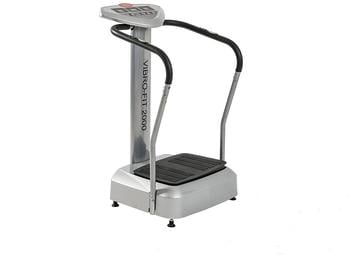 Motive by U.N.O. Fitness Vibrationsplatte Vibro-Fit 2000 silber/schwarz