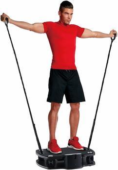 BODYCOACH Vibro Plate Premium Vibrationstrainer Fitness 3D Shaper Board