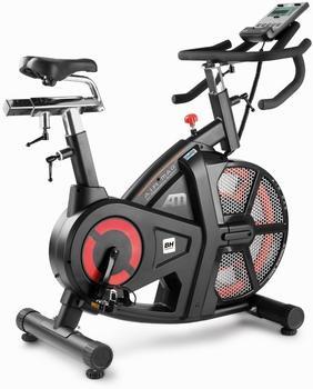BH Fitness I.AirMag H9122I - Indoorbike - 18Kg Schwungrad (gleichwertig) - Doppeltes Bremssystem - Mit iOS/Android kompatibel