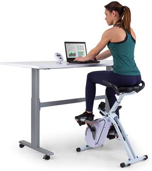 capital sports Azura Desk Bike Heimtrainer 7,5 kg Schwungmasse Riemenantrieb