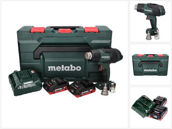 Metabo HG 18 LTX 500 (2x 4,0 Ah + Ladegerät + MetaBox)
