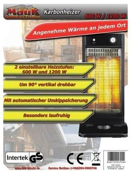 Mauk Karbonheizer 1200 W