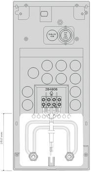 AEG MR 112 Rohrbausatz Gas-Wasserheizer (227703)