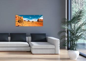 Marmony 800W Infrarot-Heizung Motiv Monument Valley mit Thermostat MTC-35