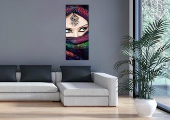 Marmony 800W Infrarot-Heizung Motiv Arabic Eyes 2 mit Thermostat MTC-35