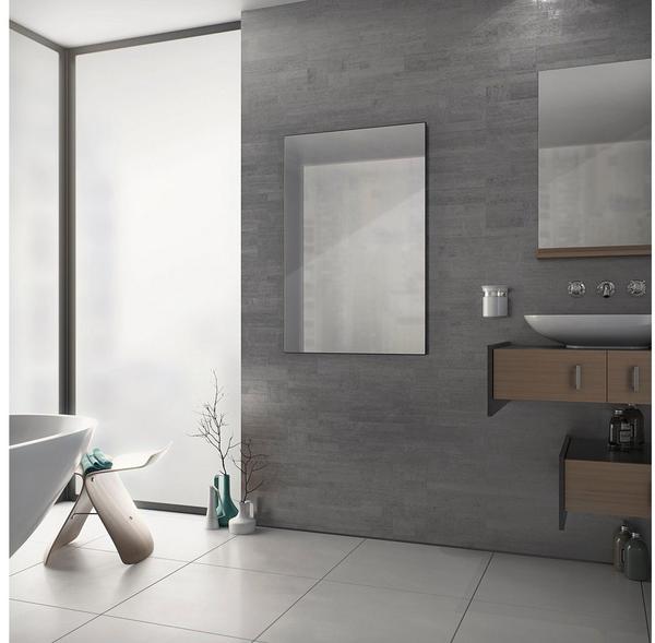 XIMAX Infrarotheizung, Spiegel Paneel (ohne Rahmen) 600x900x25 mm, 600 Watt