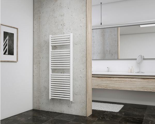 Schulte Badheizkörper München 121,5 x 50 cm, weiß, 678 Watt