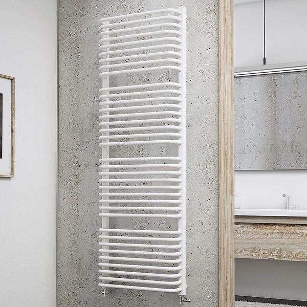 Schulte Badheizkörper Amsterdam II 174,6 x 60 cm, weiß, 1154 Watt