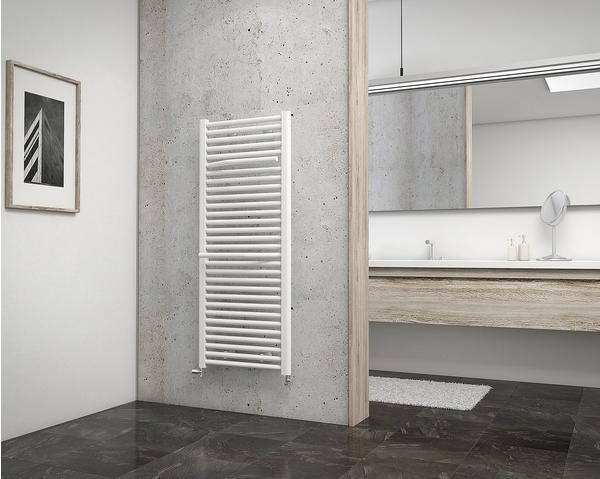 Schulte Badheizkörper Miami 121,5 x 50 cm, weiß, 754 Watt