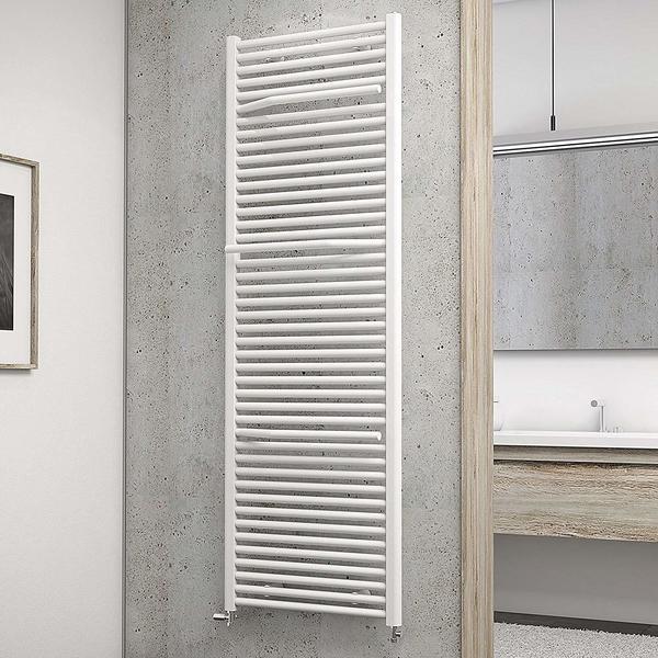 Schulte Badheizkörper Miami 177,5 x 60 cm, weiß, 1265 Watt