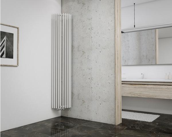 Schulte Badheizkörper London Corner II 180 x 36 cm, weiß, 1019 Watt