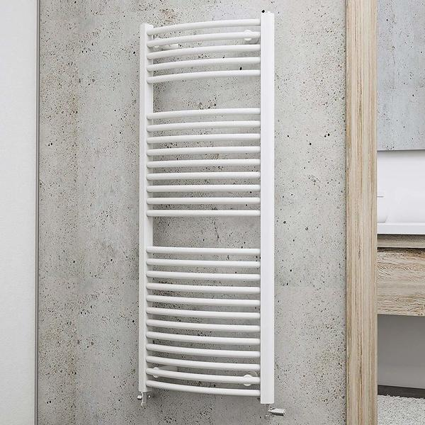 Schulte München Rund 121,5 x 50 cm, weiß,