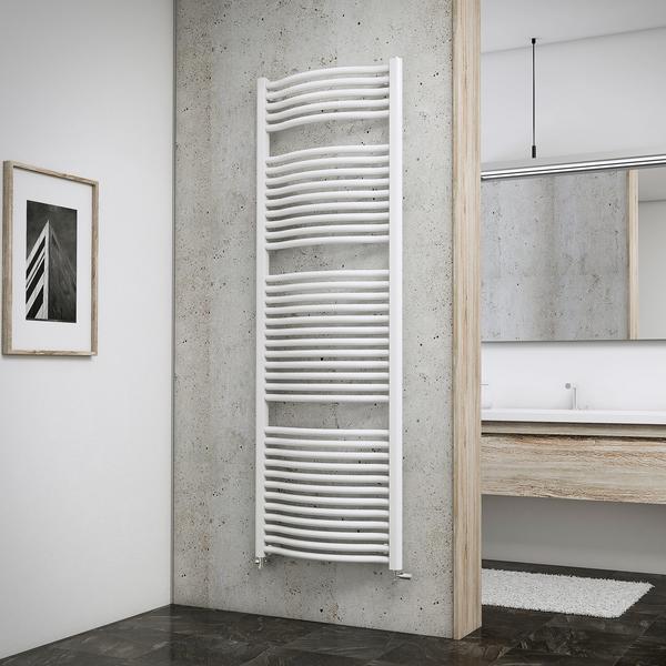 Schulte Badheizkörper Olympia 177,5 x 60 cm, weiß, 1160 Watt
