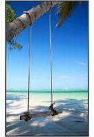 Papermoon Infrarotheizung Beach, Aluminium, 600 W, 100x60 cm