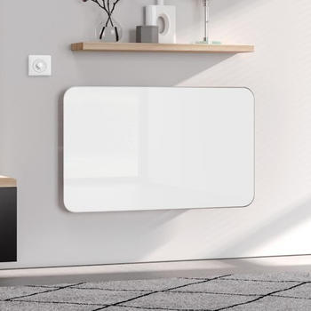 Kermi Elveo H: 100 B: 60 cm mit Elektro-Set WFS weiß/aluminium