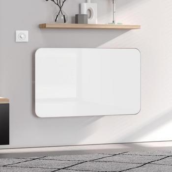Kermi Elveo H: 100 B: 60 cm mit Elektro-Set WKS weiß/aluminium