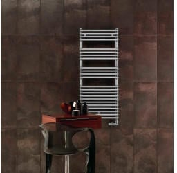 Zehnder Sat Zehnder Metropolitan Bar H:122,5 B:50 cm mit Handtuchhalter verchromt grau