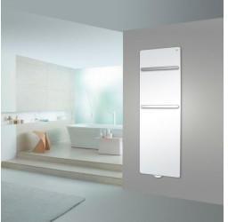 Zehnder Sat Zehnder Vitalo Bar mit EasyFit Anschlussbox H:189 B:60 cm mit Handtuchhalter chrom weiß