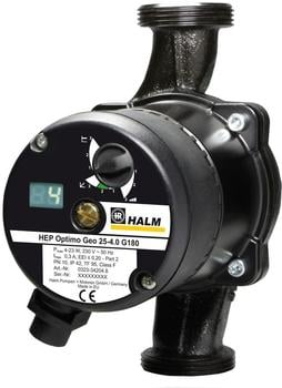 Halm HEP Optimo Geo 25-6.0 G180